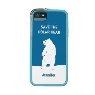 I Love Polar Bears - Save the Polar Bears iPhone 5 Cases