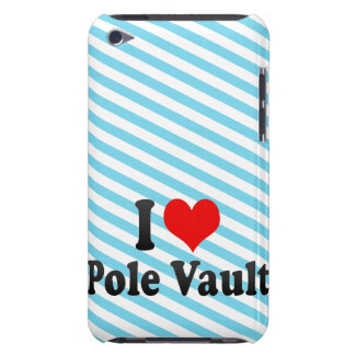 I love Pole Vault Barely There iPod Cases