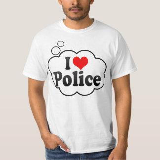 I love Police T-shirt