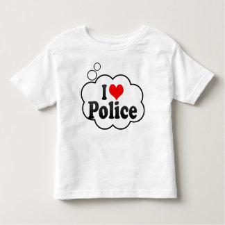 I love Police Tshirts