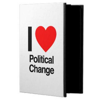 i love political change iPad air cover