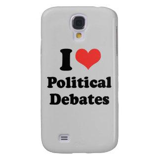 I LOVE POLITICAL DEBATES - .png Samsung Galaxy S4 Cases
