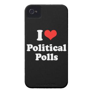 I LOVE POLITICAL POLLS.png Blackberry Case