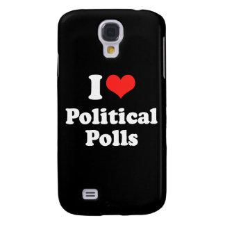 I LOVE POLITICAL POLLS.png Samsung Galaxy S4 Case