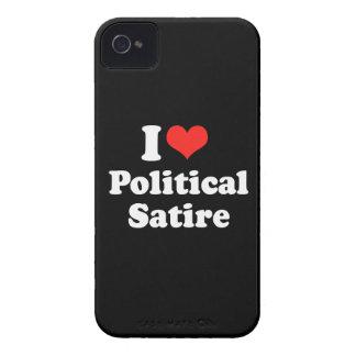 I LOVE POLITICAL SATIRE.png Blackberry Cases