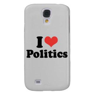 I LOVE POLITICS - .png Galaxy S4 Cases