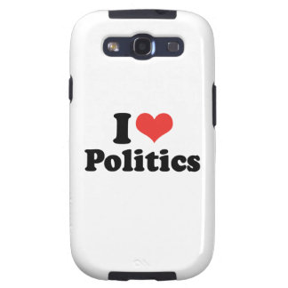 I LOVE POLITICS - .png Samsung Galaxy SIII Cover
