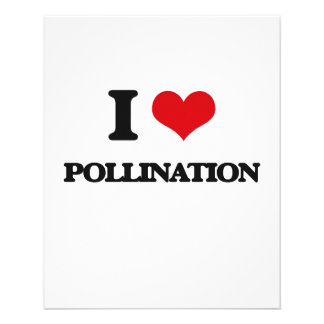 I Love Pollination 11.5 Cm X 14 Cm Flyer