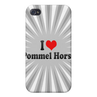 I love Pommel Horse iPhone 4 Cases