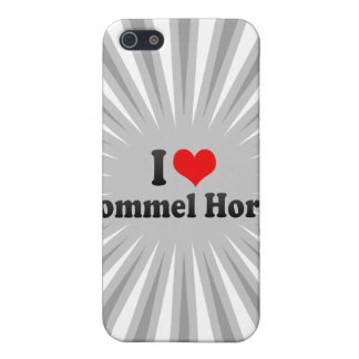 I love Pommel Horse iPhone 5 Covers