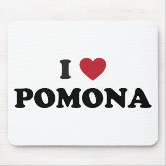 I Love Pomona California Mouse Pads
