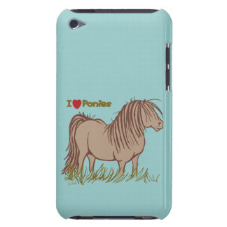 I Love Ponies iPod Touch Case