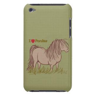 I Love Ponies iPod Case-Mate Case