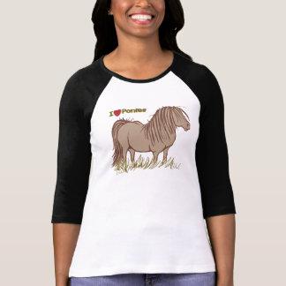 I Love Ponies Tee Shirts