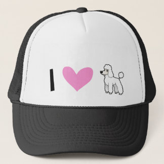 I Love Poodles (puppy cut) Trucker Hat