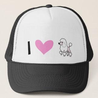 I Love Poodles (show cut) Cap