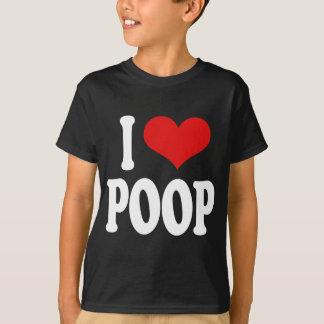 I Love Poop T-Shirt