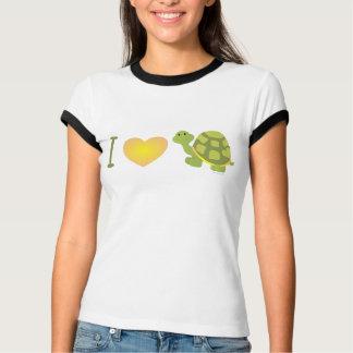 I Love Pop Turtle T Shirt