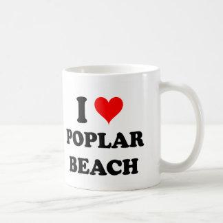 I Love Poplar Beach California Coffee Mugs