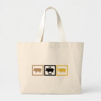 I Love Pork Adobo Canvas Bag