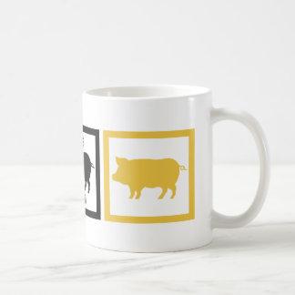 I Love Pork Adobo Basic White Mug