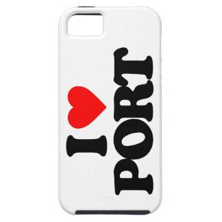 I LOVE PORT iPhone 5/5S CASE