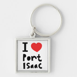 I love Port Isaac Key Ring