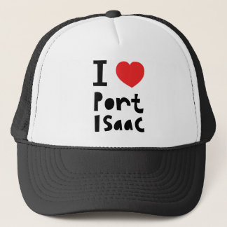 I love Port Isaac Trucker Hat