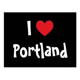 I Love Portland Postcard