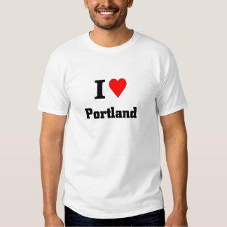 I love Portland Tees
