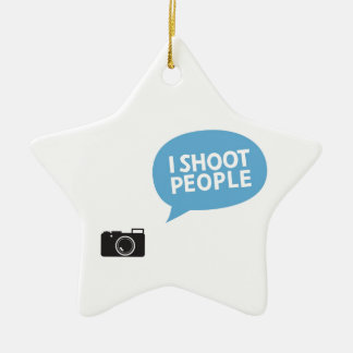 I Love Portrait Photography Christmas Ornament