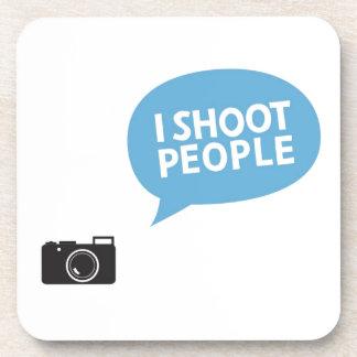 I Love Portrait Photography Coasters