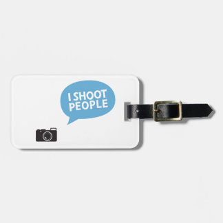 I Love Portrait Photography Luggage Tag