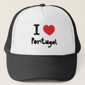 I love Portugal Trucker Hat