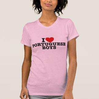 I Love Portuguese Boys T-Shirt