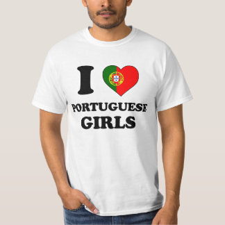 I love Portuguese Girls Shirt