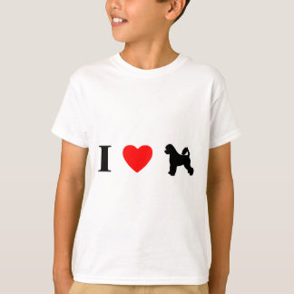 I Love Portuguese Water Dogs Child's T-Shirt