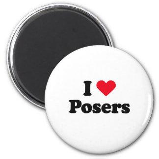 I love posers fridge magnet