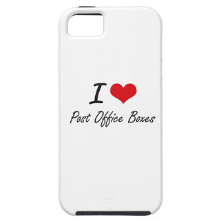 I Love Post Office Boxes iPhone 5 Case