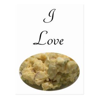 I Love Potato Salad Postcard