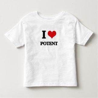 I Love Potent Toddler T-Shirt