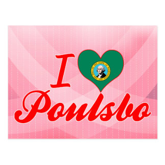 I Love Poulsbo, Washington Postcard