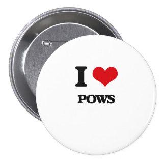 I Love Pows Pins