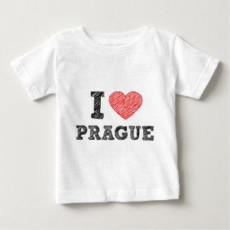 I Love Prague Baby T-Shirt