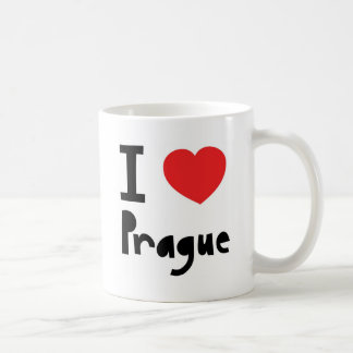 I love Prague Coffee Mug