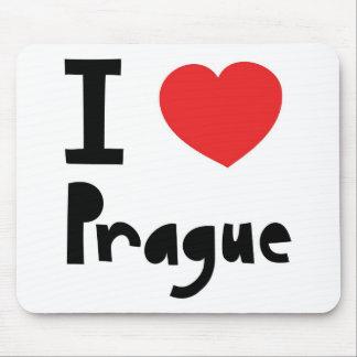 I love Prague Mouse Mat