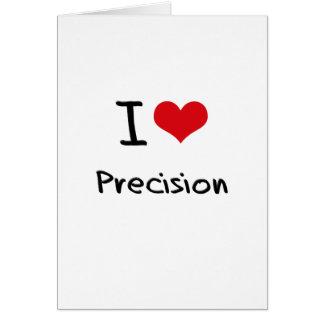 I love Precision Cards
