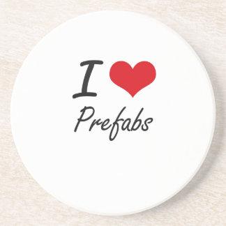 I Love Prefabs Coasters
