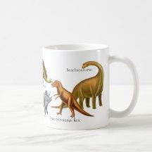 I Love Prehistoric Dinosaurs Mug