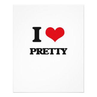 I Love Pretty 11.5 Cm X 14 Cm Flyer